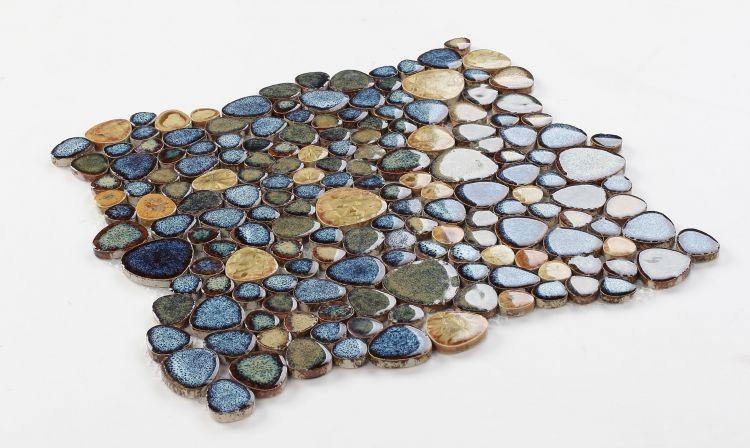 Growing Olive Pebble  Porcelain  Mosaic