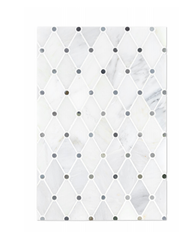 Specialty Collection Netto Mattina Polished Marble  Mosaic
