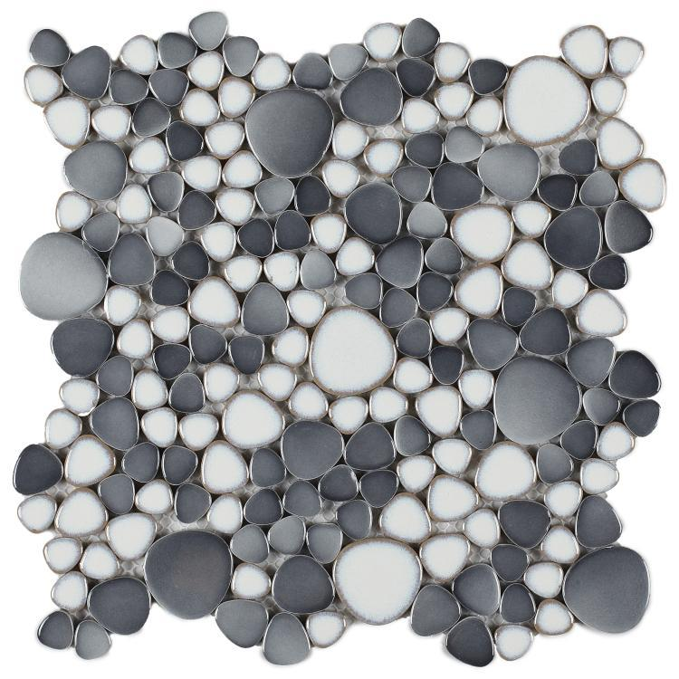 Growing Loft Pebble  Porcelain  Mosaic
