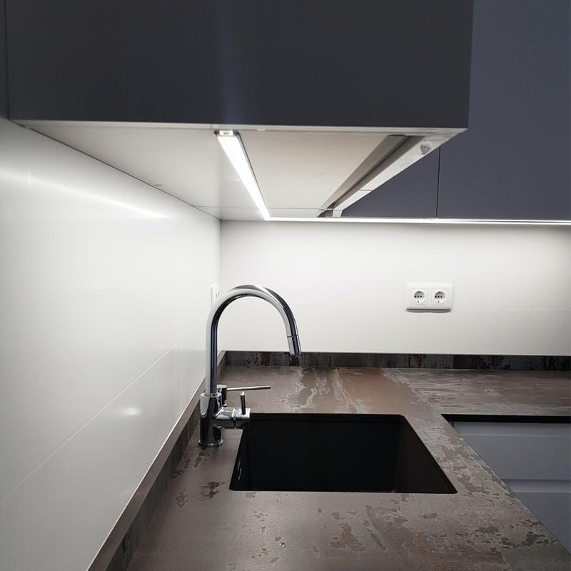Group 2 Industrial Tiles Trilium Standard Size 28x56, Smooth-Matte, Light Grey, Rectangle, Porcelain, Tile