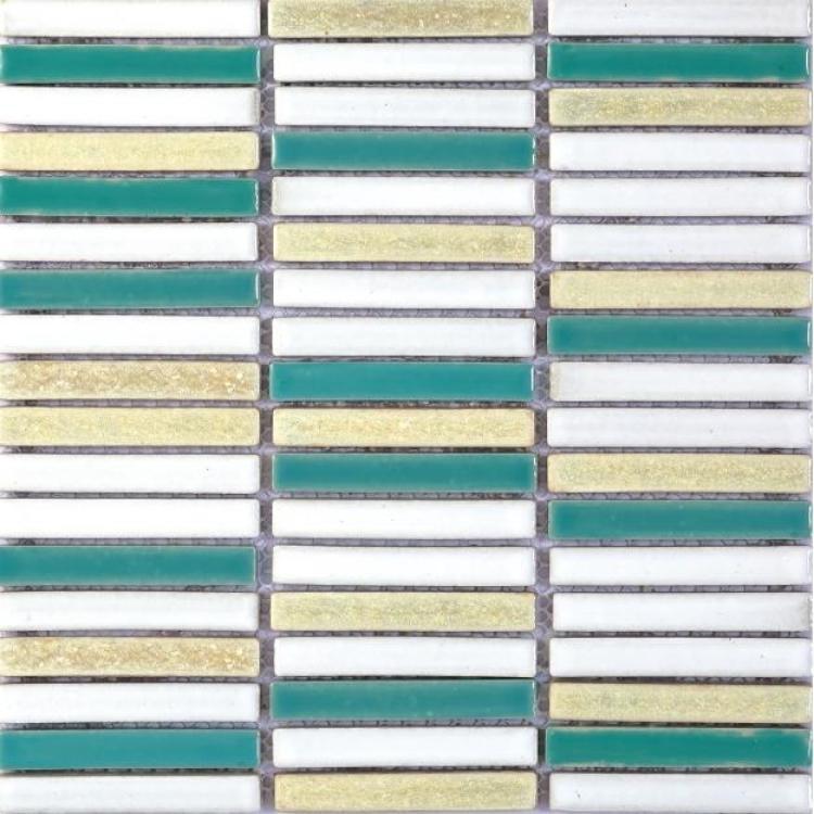 Roman Grass Slender Porcelain  Mosaic