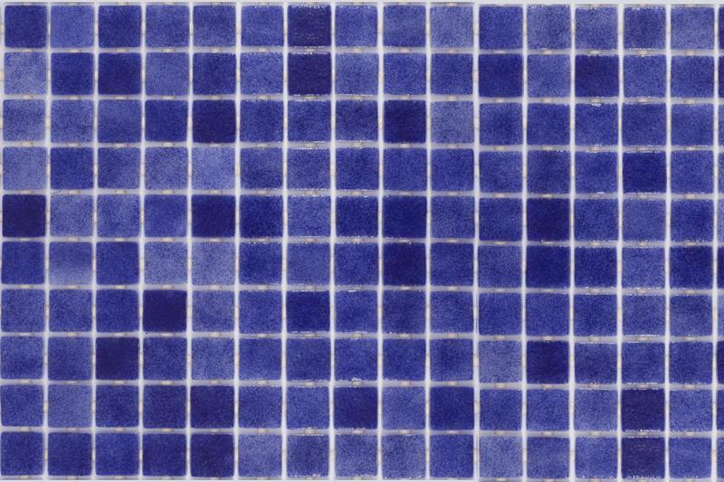 Onix Nieve Marino 1x1 Square  Glass  Mosaic