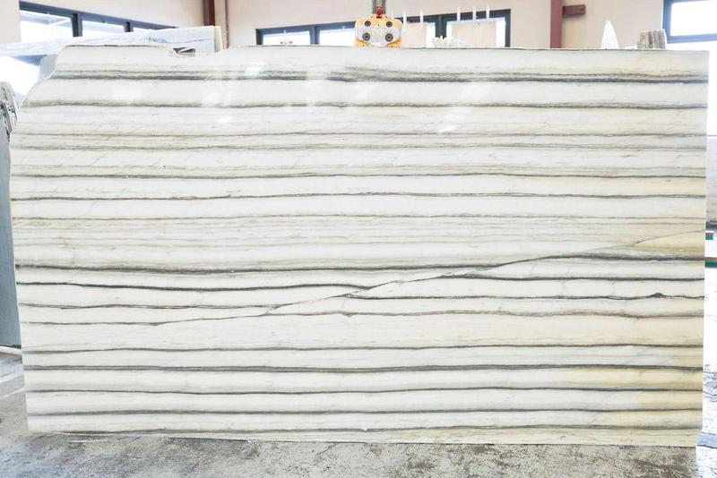 Pacifica Zebrino Polished Marble Slab