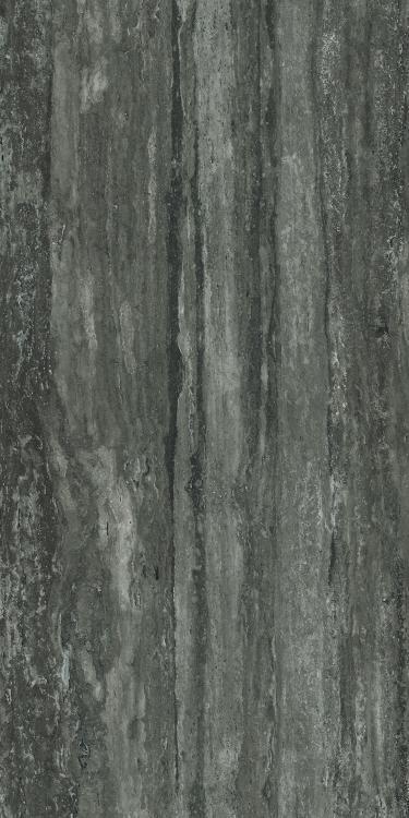 I Travertini Black Matte 16x32 Porcelain  Tile