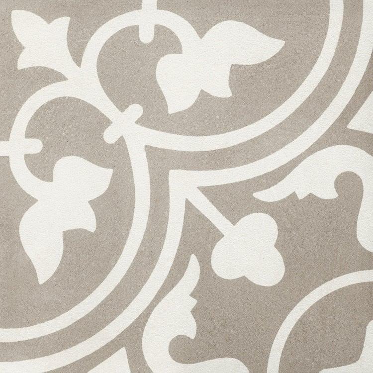 Reverie Décor 11 8x8, Glazed, Square, Through-Body-Porcelain, Tile