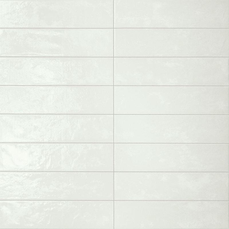 Marca Corona Regoli Bianco Glossy 3x12 Porcelain  Tile