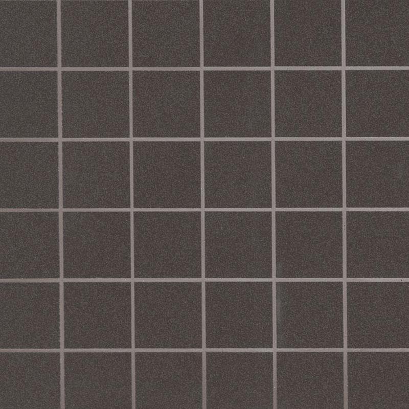 Backsplash And Wall Tile Optima Graphite 2x2, Polished, Dark Grey, Square, Porcelain, Mosaic