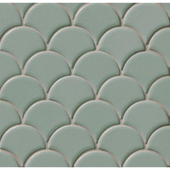 Costa Allegra Gulf Wavy Matte Ceramic  Mosaic (Discontinued)