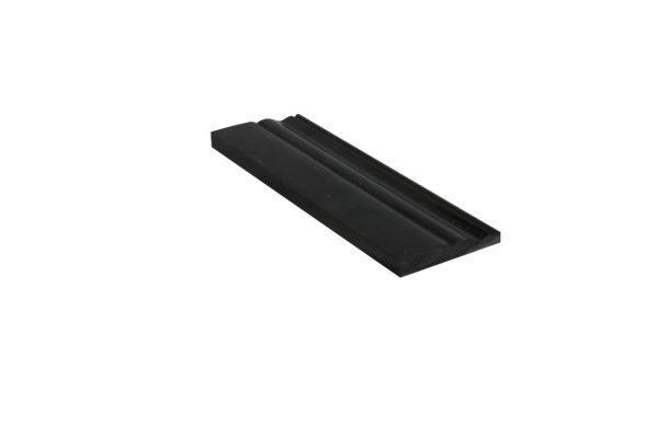 Black Galaxy Granite Trim 4x12 Polished    Baseboard