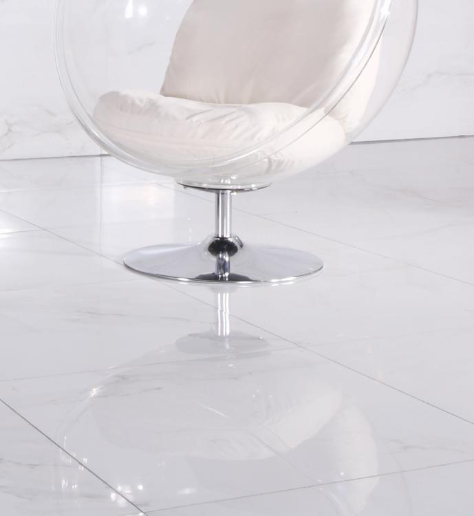 Calacatta Levigato Polished, Glazed 32x32 Porcelain  Tile