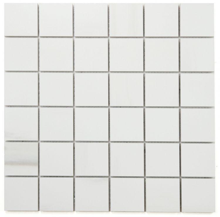 Dolomite Premium 2x2 Square Matte, Glazed Porcelain  Mosaic