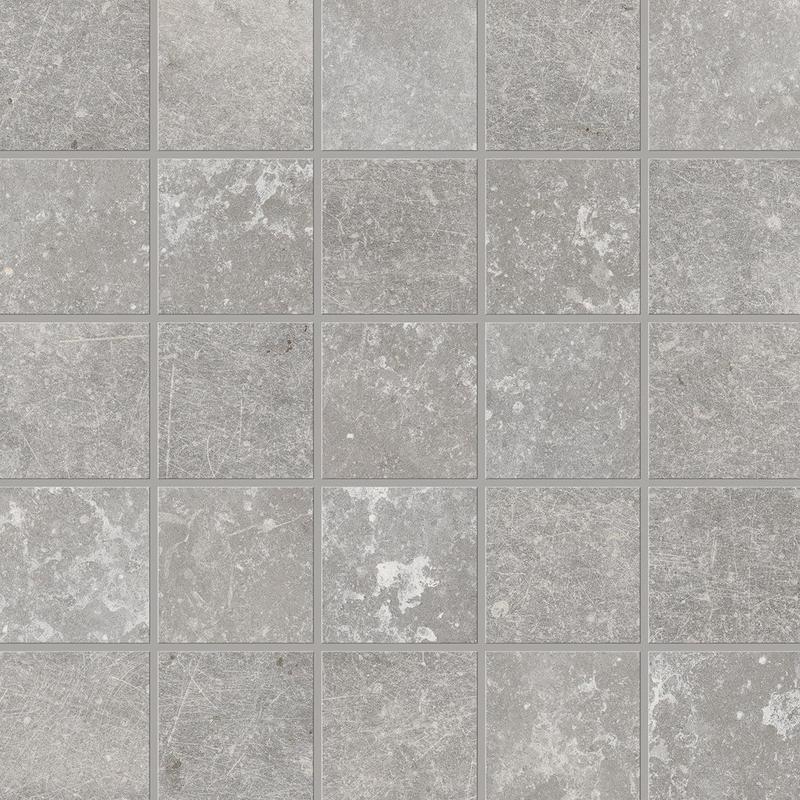 Piemme Unique Stone Titanium 2x2 Square Natural Porcelain  Mosaic