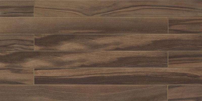 Epic Dark Brown 4x40, Brushed, Rectangle, Color-Body-Porcelain, Tile, (Discontinued)