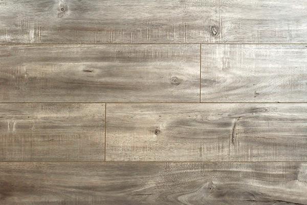 Handscraped Collection Ac3 Gray Sky 6.5x48, Hand-Scraped, Dark Grey, Laminate