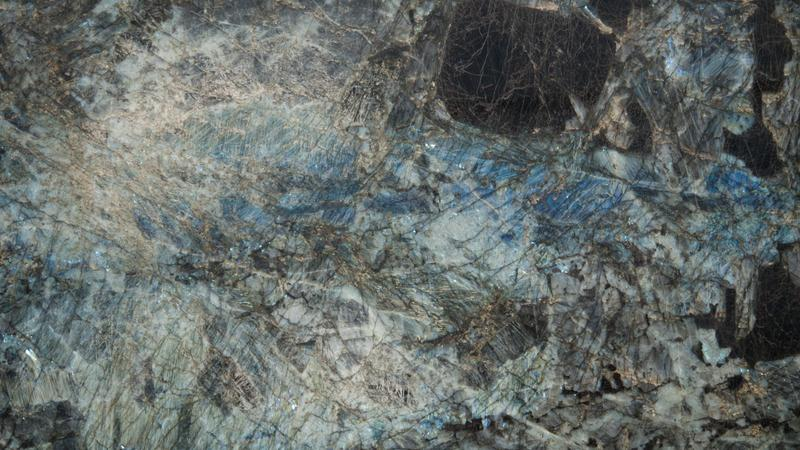 Granite Slab Lemourian Blue 20 mm Polished