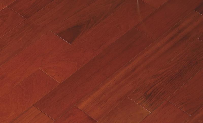 Solid Selection Brazilian Cherry Classic 4.75xfree length, Smooth, Red, Jatoba, Engineered-Wood, (Discontinued)