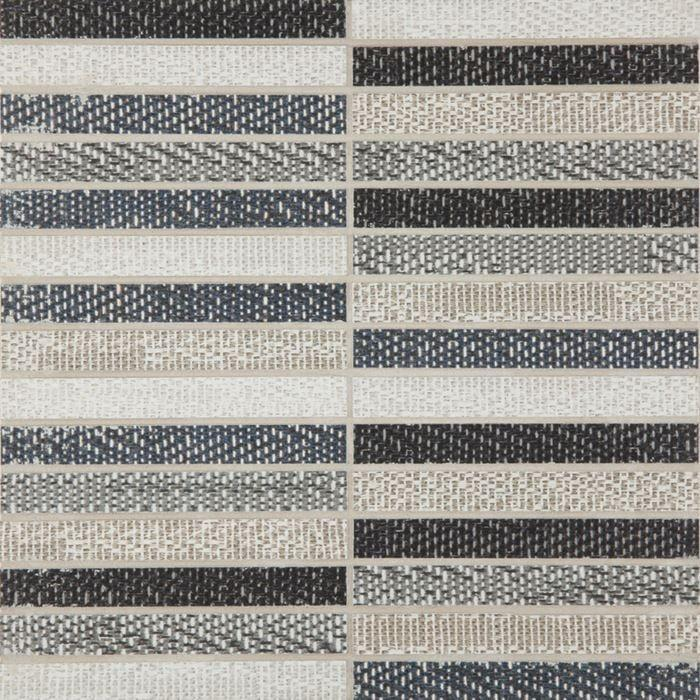 Digitalart Blend Straight Stack Straight Stacked Glazed Porcelain  Mosaic