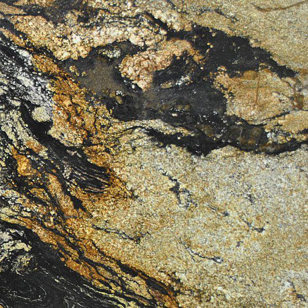 Pacifica Magma Gold 20 mm Polished Granite Slab