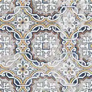 Batik Mystique Alamada Glazed 8x8 Ceramic  Tile