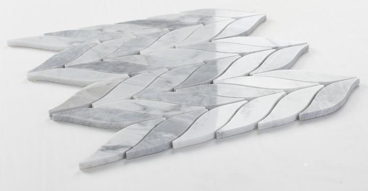 Leaf Loft Polished Marble  Mosaic