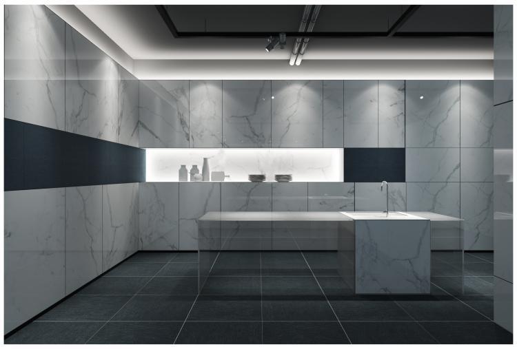 Carrara Premium Matte, Glazed 12x24 Porcelain  Tile