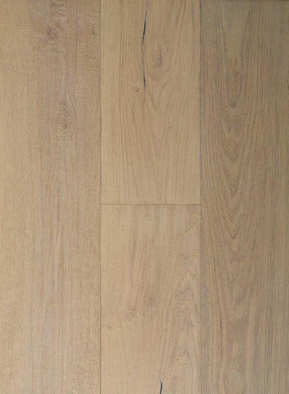 Laguna Oak Collection Blonde 7.5xfree length, Wire-Brushed, Light Brown, Engineered-Wood
