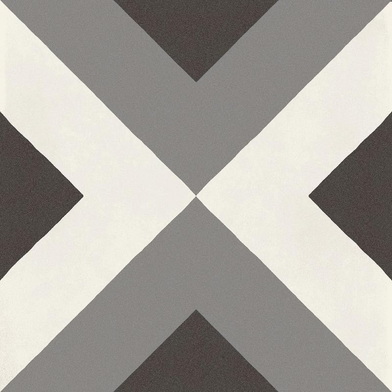 D Segni Blend Double Deco 8x8, Matte, Square, Porcelain, Tile