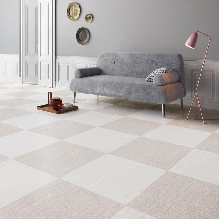Digitalart Bianco 24x24, Glazed, Square, Porcelain, Tile
