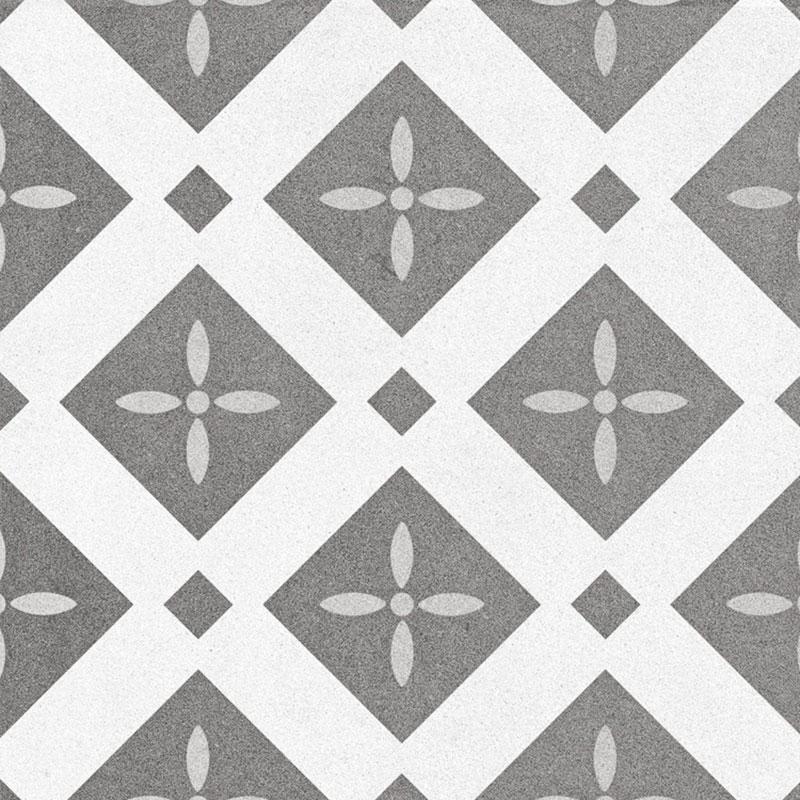Bouquet Eiffel Single 9.5x9.5, Glazed, Square, Porcelain, Tile