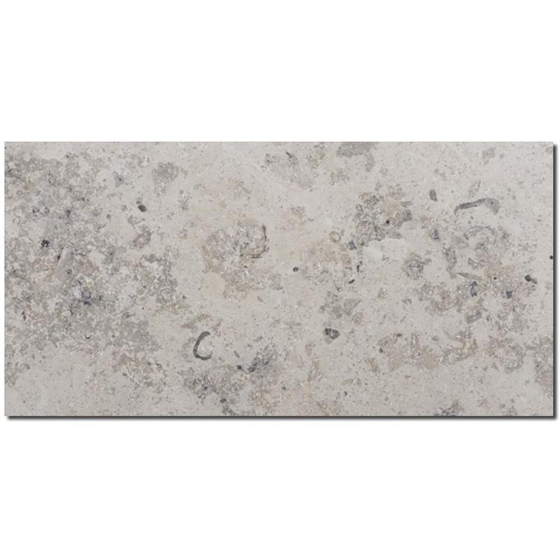 Jura Gray Limestone Tile 12x24 Honed