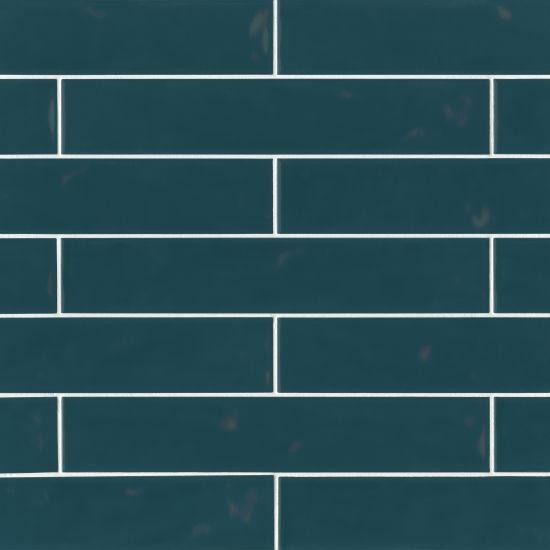 Sorrento Azzurro Glossy 3x16 Ceramic  Tile