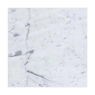 Italian Carrara White Marble Tile 6x6 Honed