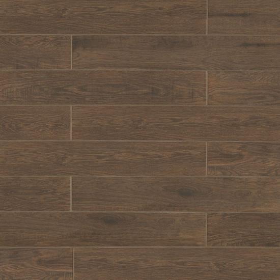 Woodmark Walnut 6x36, Glazed, Porcelain, Tile