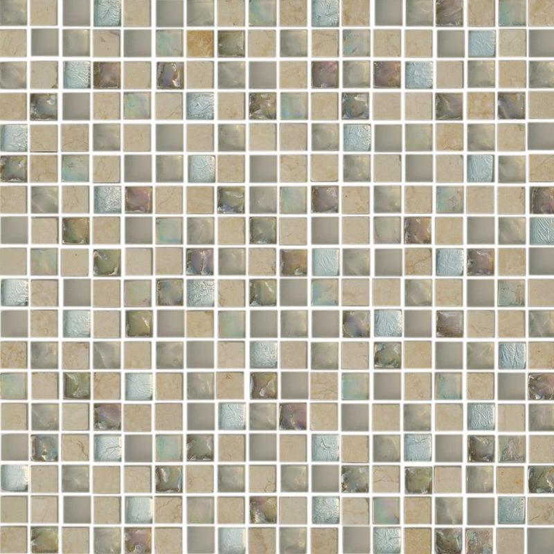 Skylights Glass Sl Cottage Melange 0.56x0.56 Square    Mosaic (Discontinued)