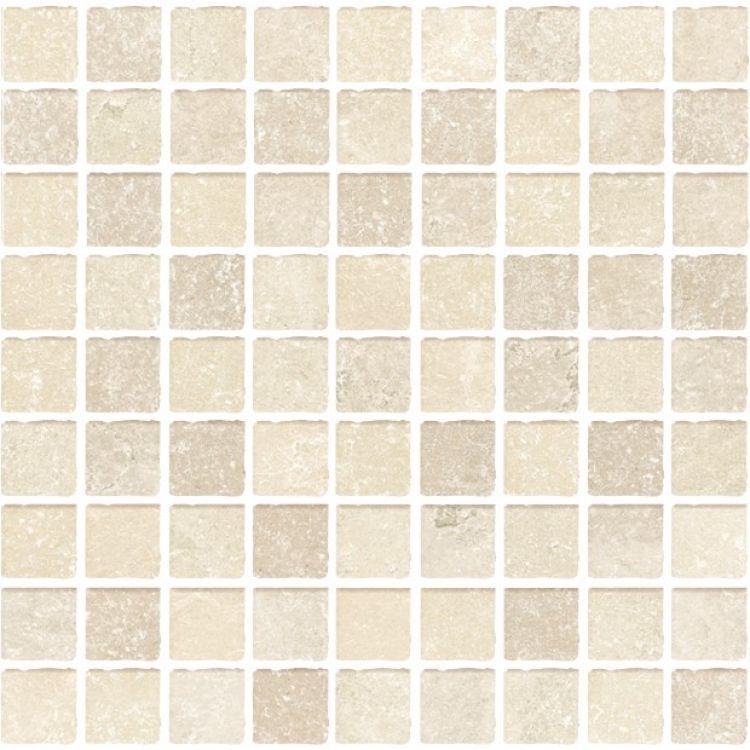 Ostuni Avorio Square Matte Porcelain  Mosaic