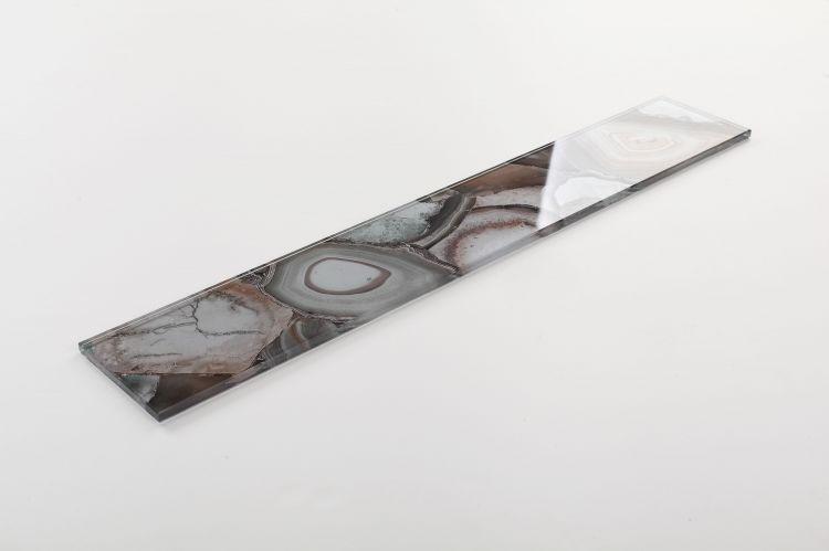 Shell Aura Forest Subway Glossy Glass  Mosaic
