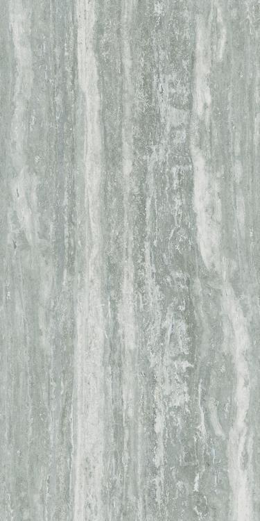 I Travertini Grey Glossy 24x48 Porcelain  Tile