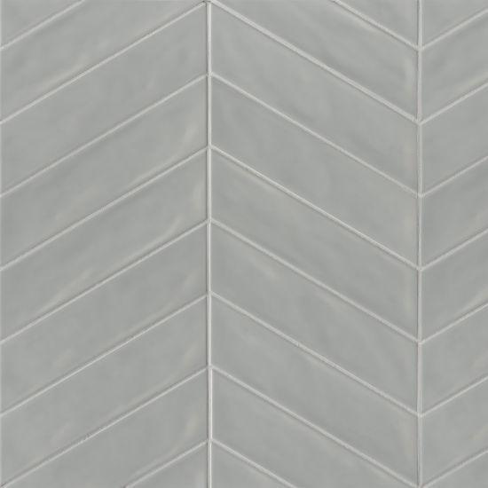 Sorrento Grigio Left Glossy 2.5x10 Ceramic  Tile