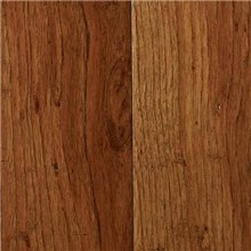 Mesa Hickory Collection Rustic Tawny 90 in, Hand-Scraped, Light Brown, Engineered-Wood, Trim