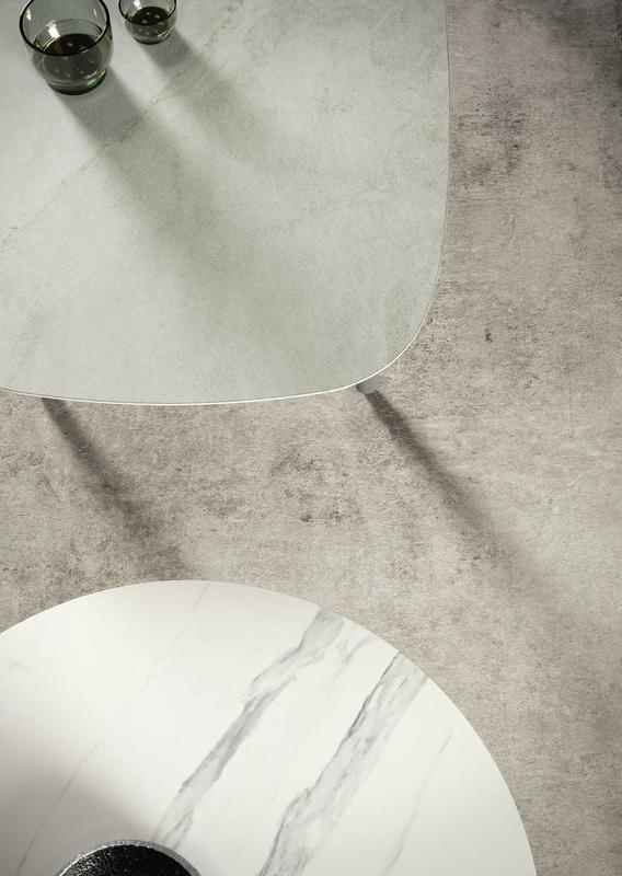 Group 2 Natural Tiles Kovik Standard Size 28x56, Smooth-Matte, Light Grey, Rectangle, Porcelain, Tile