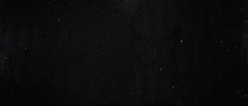 Sparkling 64x127, 30 mm, Polished, Black, Quartz, Slab