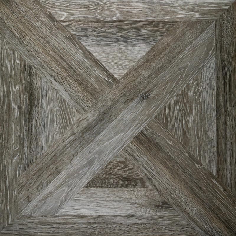 Manhattan Shadow Woodgrain Texture 24x24 Porcelain  Tile