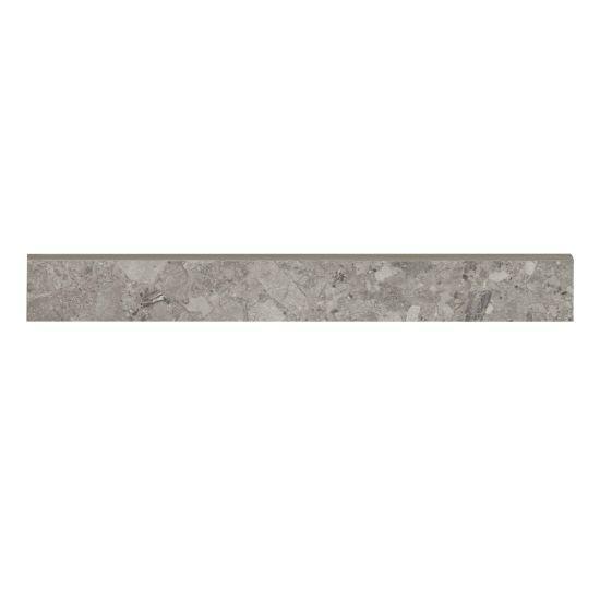 Frammenta Dark Grey Matte 3x24 Color Body Porcelain Bullnose