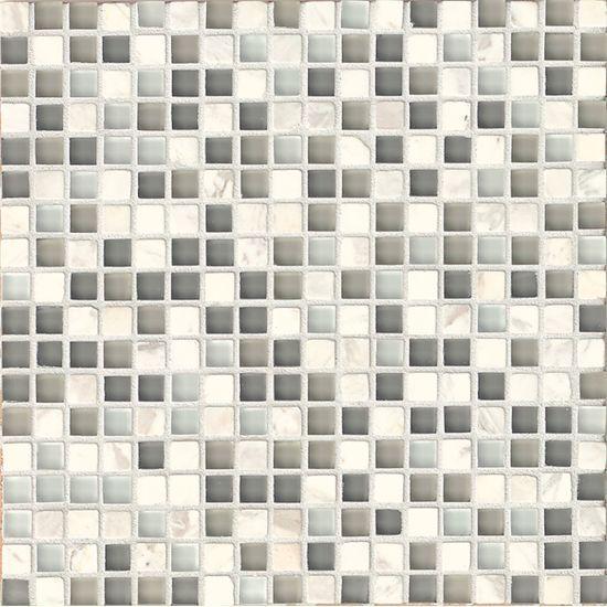 Eclipse Eternity 0.62x0.62 Square Glossy Glass  Mosaic