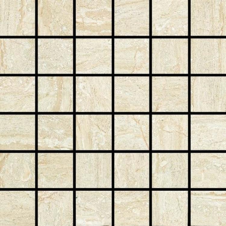 Linear Glass Jupiter 2x2 Square Glazed Ceramic  Mosaic