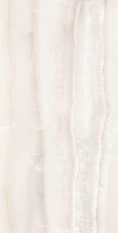 Akoya White Polished, Glazed 24x48 Porcelain  Tile