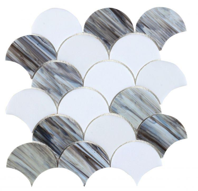 Newport Dawn Scale  Glass  Mosaic