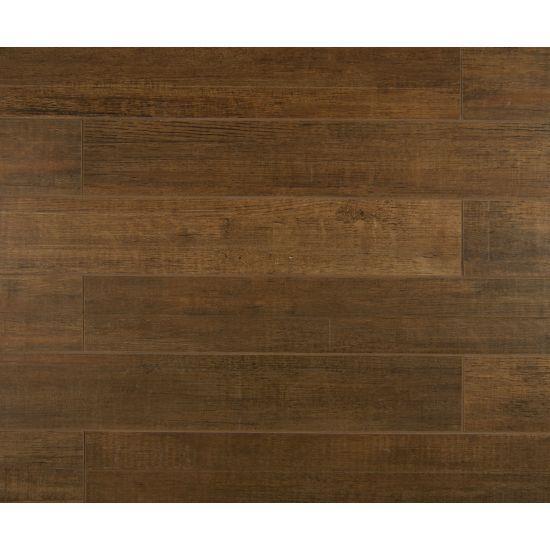 Barrique Brun Oak Brown 4x24, Matte, Rectangle, Color-Body-Porcelain, Tile
