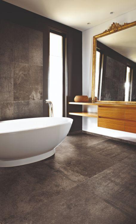 La Roche Mud Matte, Glazed 24x48 Porcelain  Tile
