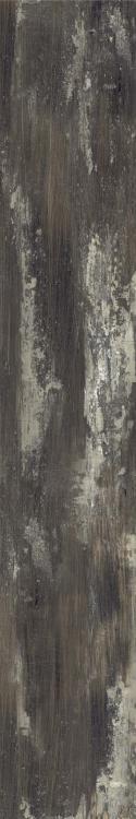 Arte Legno Ar 8 Black Matte, Glazed 8x48 Porcelain  Tile
